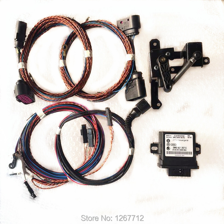 VW Auto Leveling Sensor Wire Range Headlight Cornering AFS Module Kit For Volkswagen Golf mk6 VI kit child picture more detailed picture about vw auto leveling  at bakdesigns.co