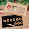 OurWarm Christmas Table Decorations Cork Wine Glass Charms Christmas Gift Wine Glass Marker With Bottle Stopper