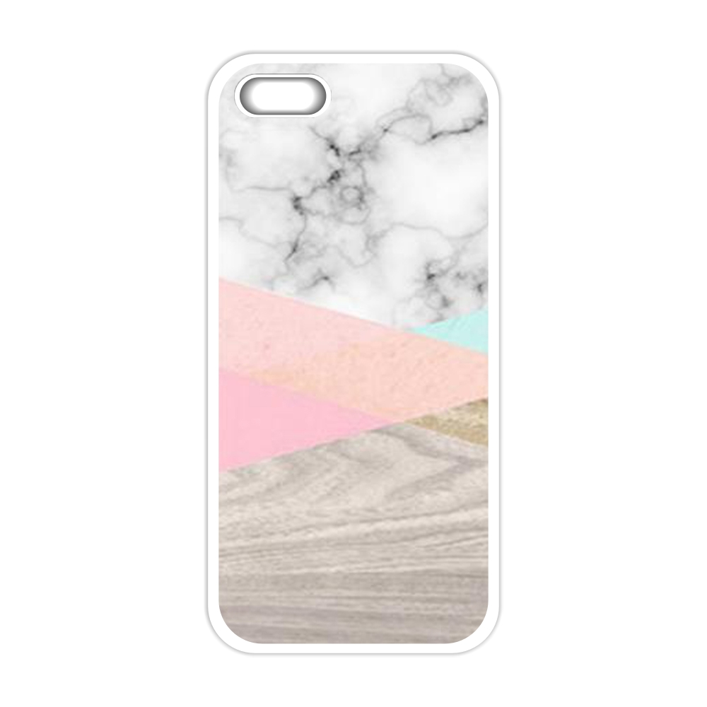 Pink Texture Marble Cover Case for iPhone 4 4S 5 5S 5C SE 6 6S 7 Plus Samsung Galaxy S3 S4 S5 Mini S6 S7 S8 Edge Plus A3 A5 A7