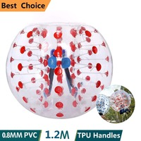 Outdoor Fun & Sports Inflatable Ball Bumper Ball Zorb Ball Body Dia 4/5 Ft (1.2/1.5/1.7 M) Human Hamster Ball For Adults/kids