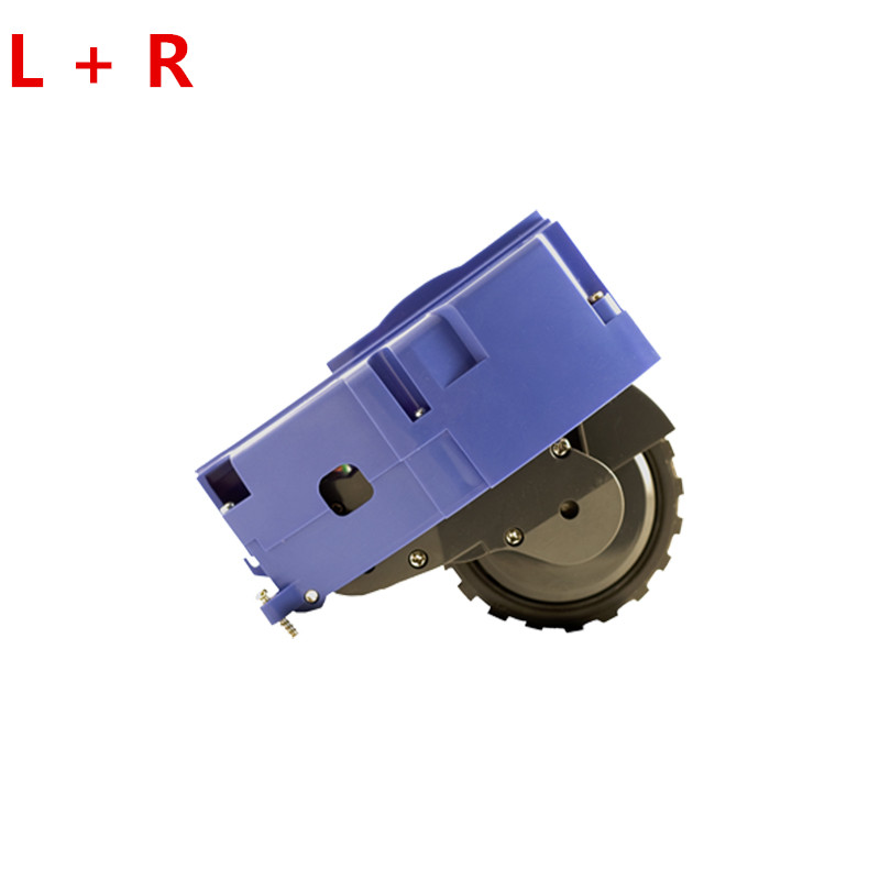 L+R Wheels replacement for irobot roomba 600 700 500 Series 620 650 660 595 780 760 770 Vacuum Cleaner Parts irobot roomba wheel lumiparty 18000lm 7 xml t6 15000lm xml t6 led dive torch 200m underwater waterproof tactical led flashlights lantern lamp