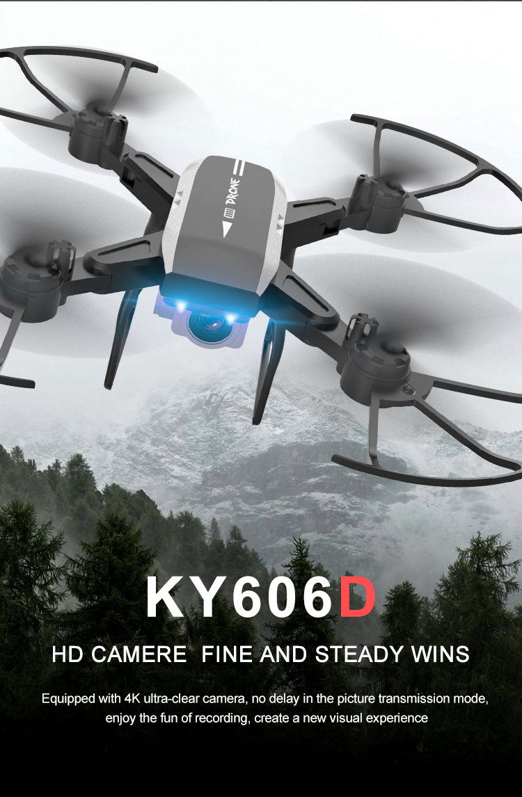 KY606D 4k HD 1080p Camera Drone with 20 Minutes Flight time for Aerial Photography 8