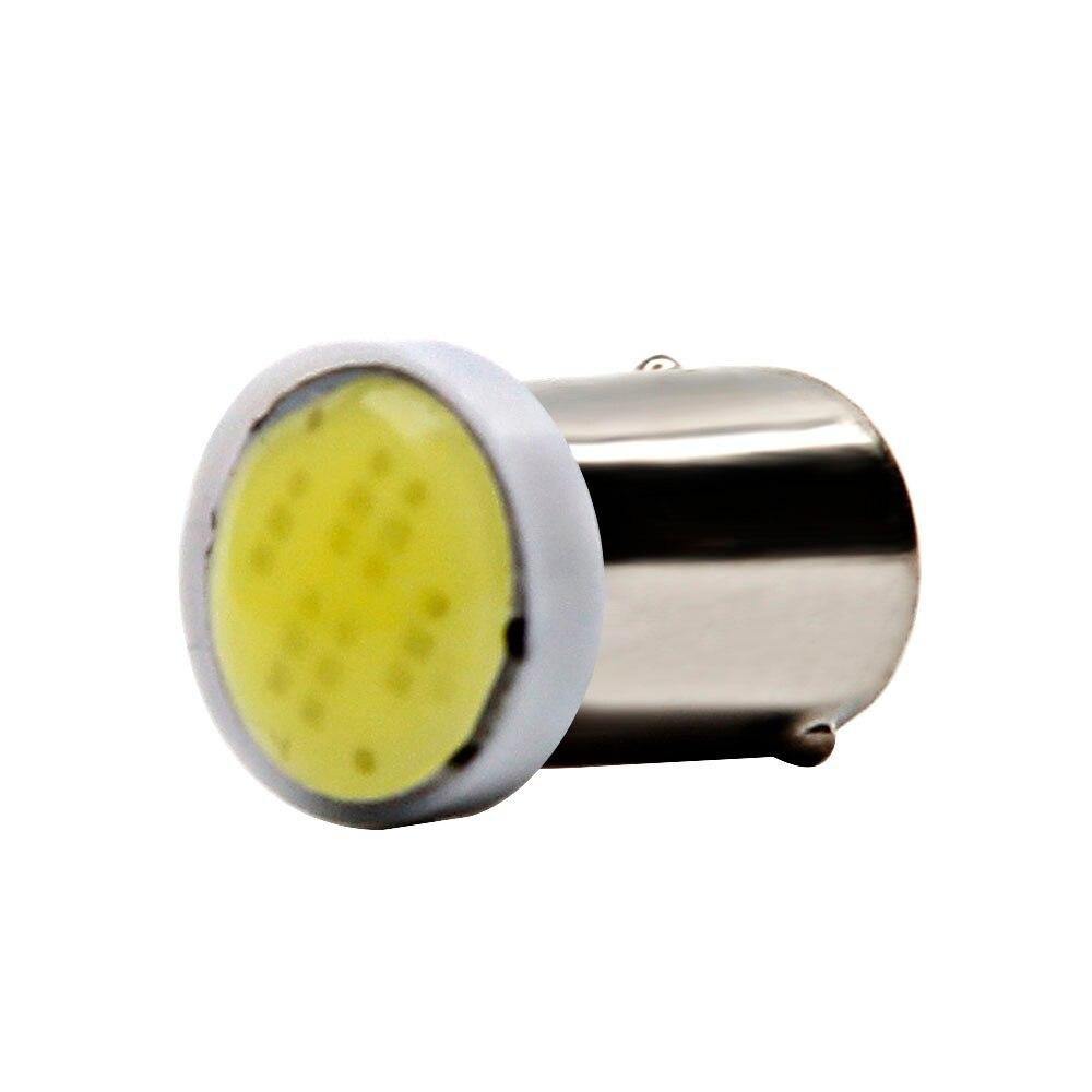 20X BA9S COB 1 LED 6 фишек около 1.5 Вт T4W 6 фишек светодиодные фары автомобиля 1 SMD DC 12 В подкладке авто лампа белый голубой желтый зеленый