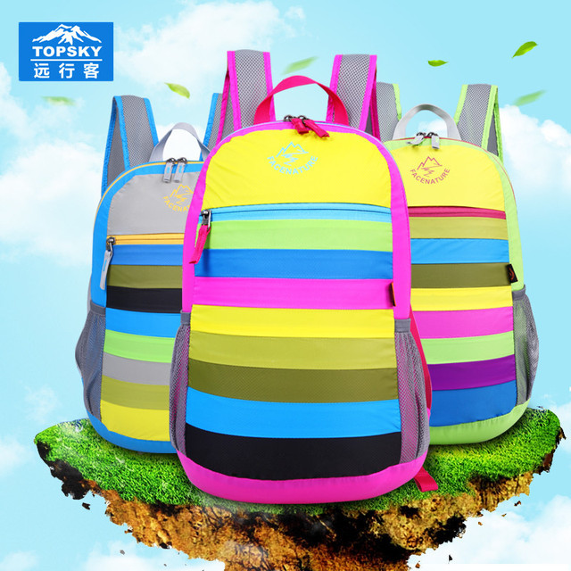 Topsky 20L professional climbing Backpack rainbow Camping bag sport Men women bag soft backpack mochilas sports bags
