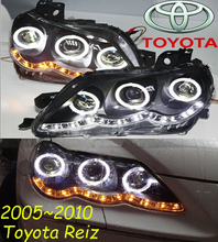 Reiz headlight,2005~2009/2010~2013,(LHD,RHD need add 200USD),Free ship! Reiz fog light,2ps/set+2pcs Aozoom Ballast,Reiz