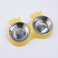 Dog Bowl Stainless Steel Water and Food Feeder with Non-slip Pet Puppy Small Medium Dog dog food pro plan medium