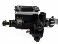 Adjustable 22cm 7 8 Universal Motorcycle Brake Clutch Pump Master Cylinder Set Kit Reservoir Levers