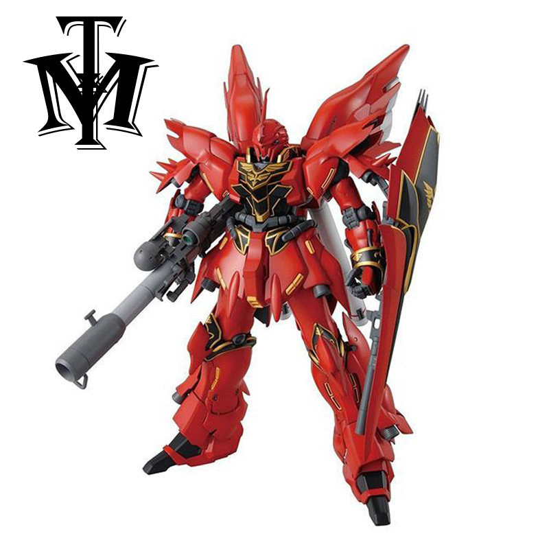 GaoGao Anime Mobile Suit Sinanju Gundam MSN-06S MG 1/100 model Robot Puzzle assembled DIY action figures Collection toy gift 1