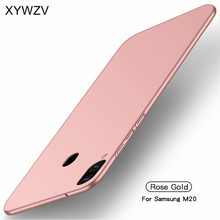 For Samsung Galaxy M20 Case Silm Luxury Ultra Thin Smooth Hard PC Phone Case For Samsung Galaxy M20 Cover For Samsung M20 Fundas