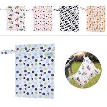 Новинка ребенок подгузник хранение водонепроницаемый сумка подгузник сумка моющийся подгузник влажный сухой ткань