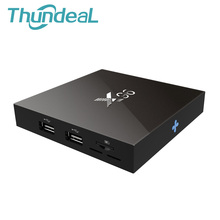 X96 Amlogic Android 6.0 TV Box 4 K Guimauve Set Top BOX Quad Core 2.4 GHz WiFi HDMI avec USB LAN TF Media Player Smart Box IR