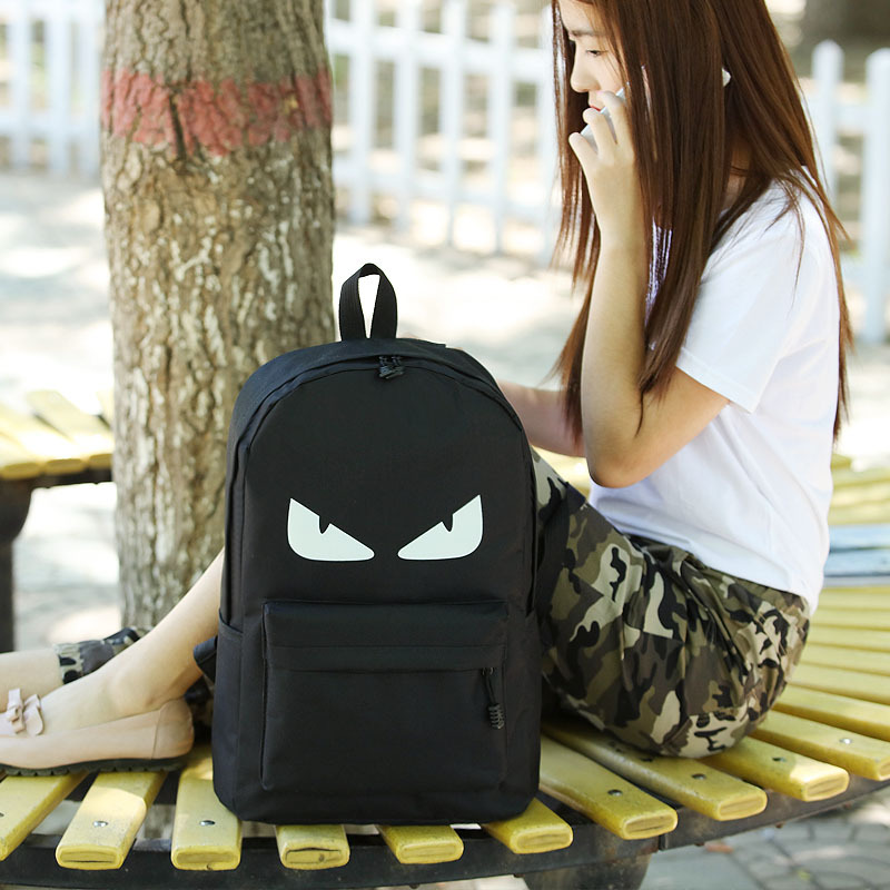 backpack The new men and women luminous shoulder bag students street youth  tide ride a FREE SHIPPING e41a7d9d13a6b