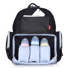 Fashion Mummy Baby Diaper Bag Organizer Maternity Mum Waterproof Nappy Changing Backpack Wetbag Large Capacity For stroller цена
