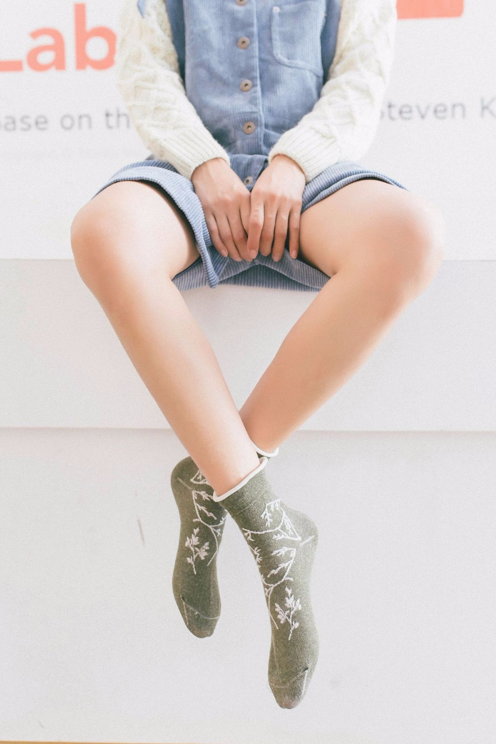 Women Socks Wool Upscale Soft Warm Winter Short Socks Compression Thick Brand Boot Ladies Socks ZA01