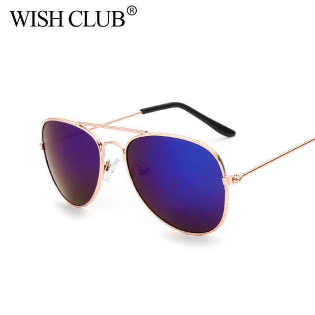 9c57d75a77 WISH CLUB Fashion Sunglasses 2018 Small Size Luxury Brand Baby Kids Eyewear  Sun Glasses For Children
