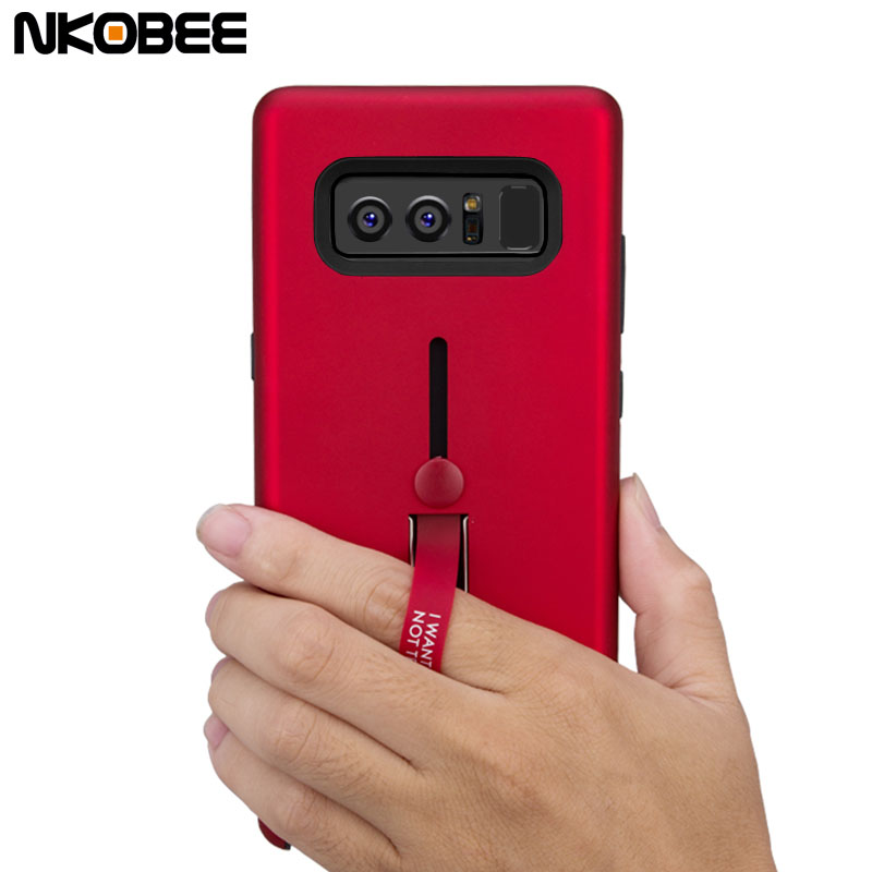 Nkobee For Samsung Note 8 Case Cover With Finger Ring