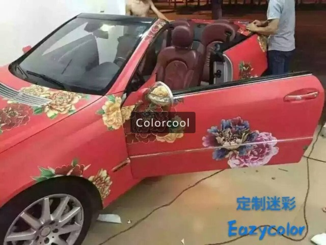 New Style Custom Car Sticker Bomb Camo Vinyl Wrap Car Wrap With - Custom car body stickers