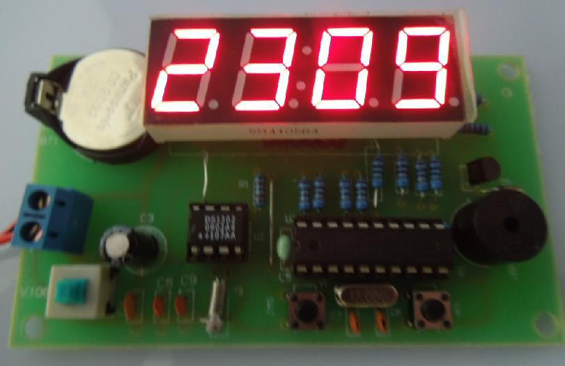 1pc 4 Bit Scm At89c2051 Ds1302 Digital Clock Diy Kit From Reliable Solar Suppliers On Super Electric Modules Market