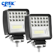 CREK 5 48W LED Work Light Offroad 4x4 4WD SUV Forklift Headlight For ATV Tractor Off-road