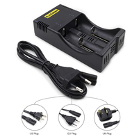Electronic Cigarete Battery Charger Listman X2 Li Ion Charger Accumulator Charger Suitable For 18650 26550 18350