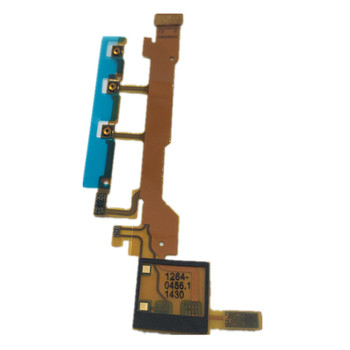 RTBESTOYZ Original For Sony Xperia Z L36H L36 LT36 C6602 C6603 Power Button Flex Cable With Microphone Ribbon image
