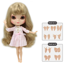 Icy Blythe Doll Joint Body 26 Styles Nude Neo Blythe 30 cm Free Hand Set 18 PCS
