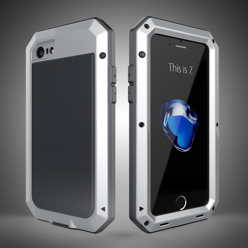 HTB1Uw5KeKuSBuNjy1Xcq6AYjFXad Heavy Duty Protection Doom armor Metal Aluminum phone Case for iPhone 11 Pro Max XR XS MAX 6 6S 7 8 Plus X 5S 5 Shockproof Cover