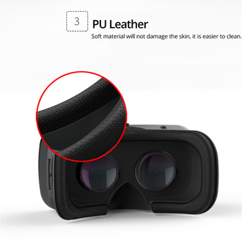 VR Shinecon 6.0 Casque Virtual Reality Glasses 3 D 3d Goggles Headset Helmet For Smartphone Smart Phone Google Cardboard Len 3