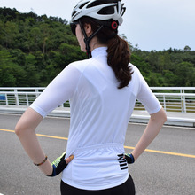 Women white high quality Pro team Summer Cycling Jersey Short Sleeve Bicycle Jerseys Road Bike Cycling Clothing Top 176 top quality hot cycling jerseys red lotus summer cycling jersey 2017s anti uv female adequate quality sleeve cycling clothin