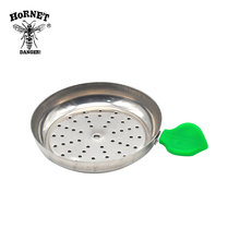Shisha Hookah Charcoal Holder Apple On Top Tray Cover Hookah Bowl Head Heat Keeper Bowl Hookah Accessories