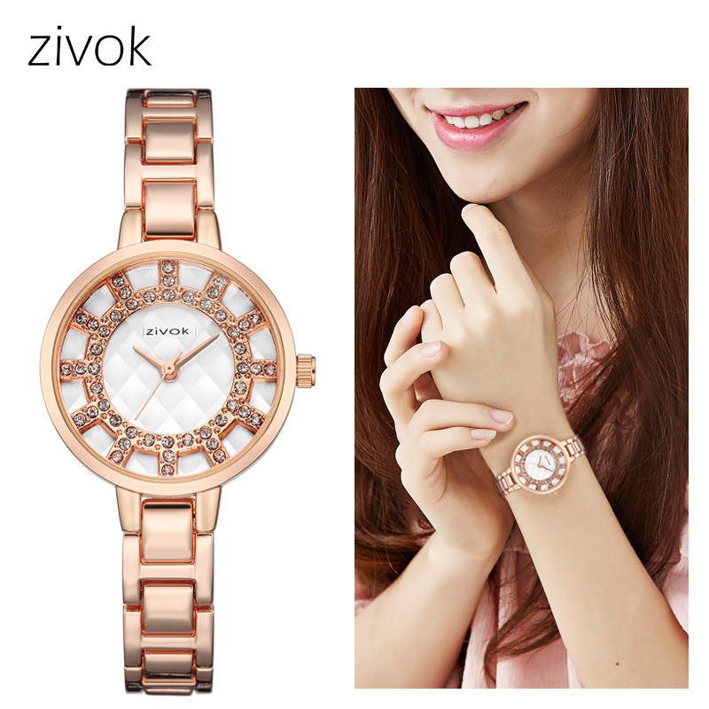 zivok Top Brand Luxury Women Watches Relogio Feminino Creative Women Bracelet Watch Montre Femme Lovers Quartz Wrist Watch Clock zivok fashion brand women watches luxury red lovers bracelet wrist watch clock women relogio feminino ladies quartz wristwatch