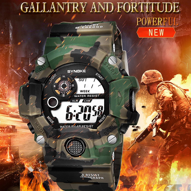 SYNOKE Relogio Masculino Military Multi Function Sports Watches Alarm LED Digital Dual sport g watch  shock WristWatch saatSYNOKE Relogio Masculino Military Multi Function Sports Watches Alarm LED Digital Dual sport g watch  shock WristWatch saat
