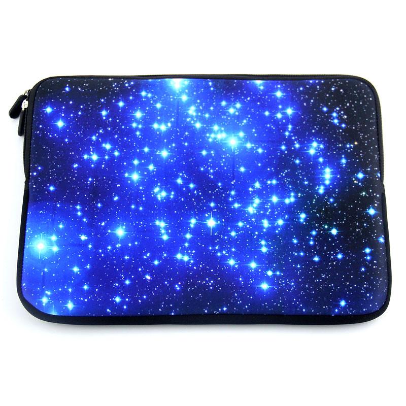 Sinine Galaxy sülearvuti kott tõmblukuga neopreenist sülearvuti - Sülearvutite tarvikud - Foto 2