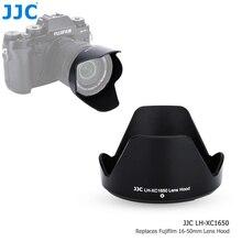 JJC 그늘 Fujinon XC 16 50mm F3.5 5.6 OIS II 렌즈 Fujifilm X T200 X T100 X A7 X T30 X T20 X T10 카메라