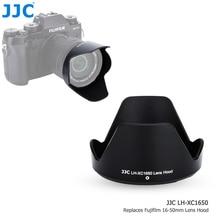 Jjc baioneta lente capa sombra para fujinon xc 16 50mm F3.5 5.6 ois ii lente na fujifilm X T200 X T100 X A7 X T30 X T20 X T10 câmera