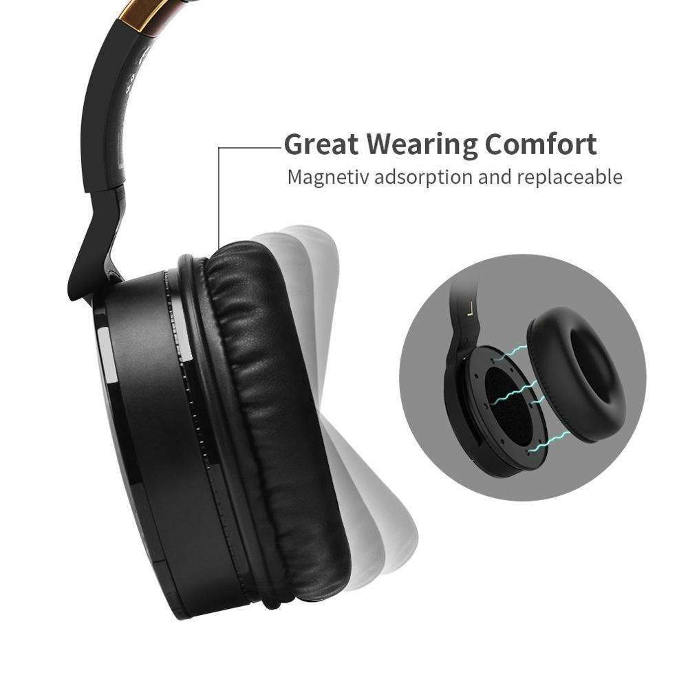 Image 4 - COWIN E 8 Active Noise Cancelling Headphones Wireless Bluetooth Headset with Mic/Hi Fi Deep Bass Wireless HeadphonesPhone Earphones & Headphones   -