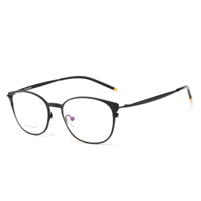 a0c4b1bccd6e Toptical Alloy Glasses Frame Female Eyeglasses Myopia Metal Women Vintage  Round Eyes Full Frames Ultra-