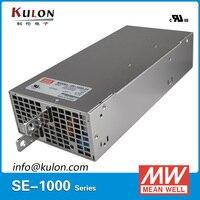 Original Mean Well 1000W 12V Power Supply SE 1000 12 AC to DC 12V transformer switch mode Power Unit