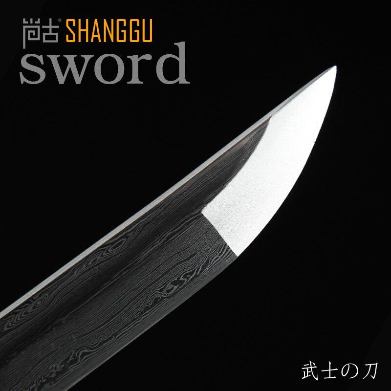 Şam Qızıl Kəsici təqlid Samurai Qılınc Ninja Qılınc - Ev dekoru - Fotoqrafiya 6