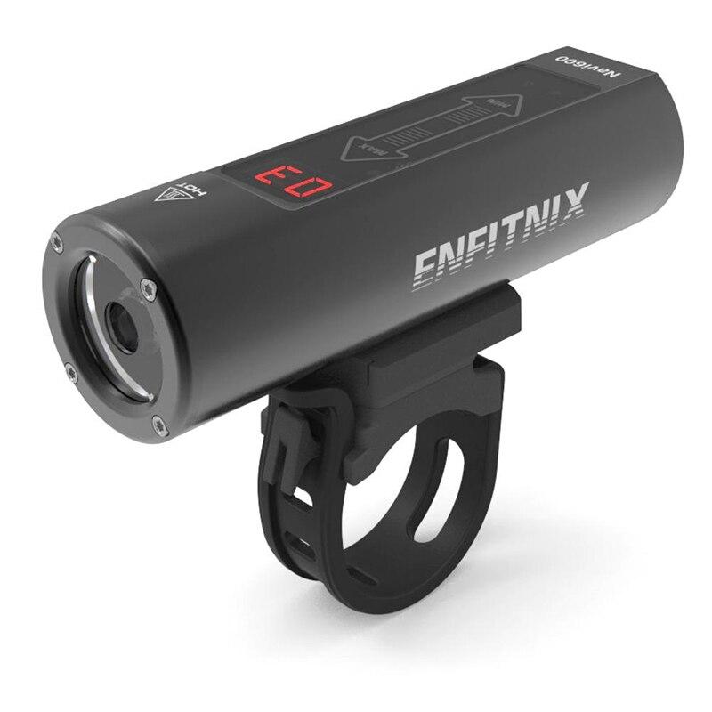 2019 nouveaux phares intelligents légers Enfitnix Navi600 USB rechargeables VTT de route phares intelligents pour accessoires de vélo