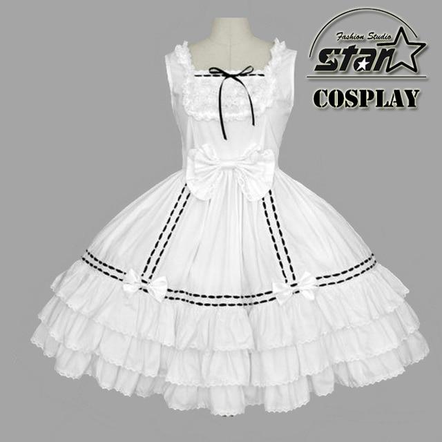 1f79ebdb6df Plus Size Flower Girls Wedding Ball Gown Alice In Wonderland Costume  Children Halloween Cosplay Lolita Dress