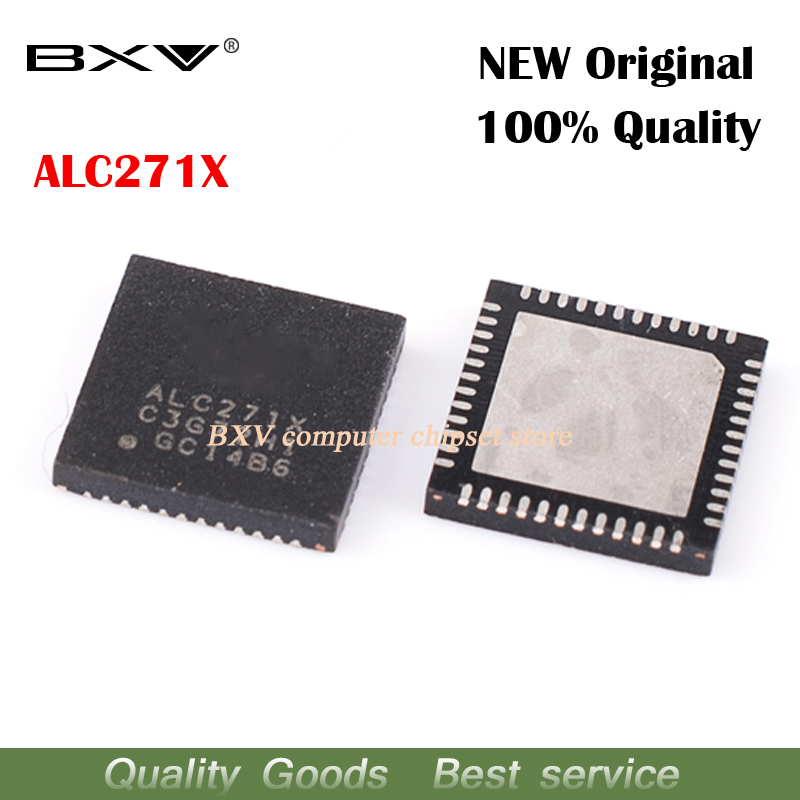 10pcs ALC271X 6mm*6mm HD audio chips Notebook sound card IC new original laptop chip free shipping