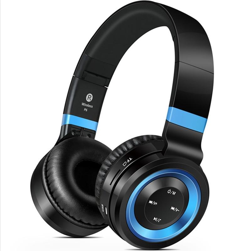 ФОТО Sound Intone P6 Bluetooth Headphone Foldable Wireless Headphones with Microphone Wireless Headsets Over-ear for iPhone Xiaomi PC