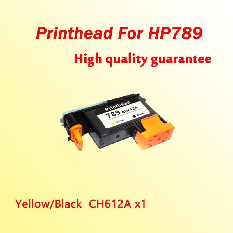 1x 789 printhead Yellow/Black for hp 789  L25500 printer head CH612A  1x 789 printhead yellow black for hp 789 l25500 printer head ch612a
