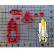 Space Shuttle Fondant Cutter