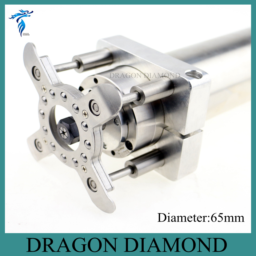 New 0.8kw/1.5kw Spindle Holder 65mm Clamp Plate For DIY CNC Router Material Auto Pressure Plate 3d printer parts 65mm spindle diameter auto pressure foot fixture holder for cnc router diy accessories cnc plate clamp