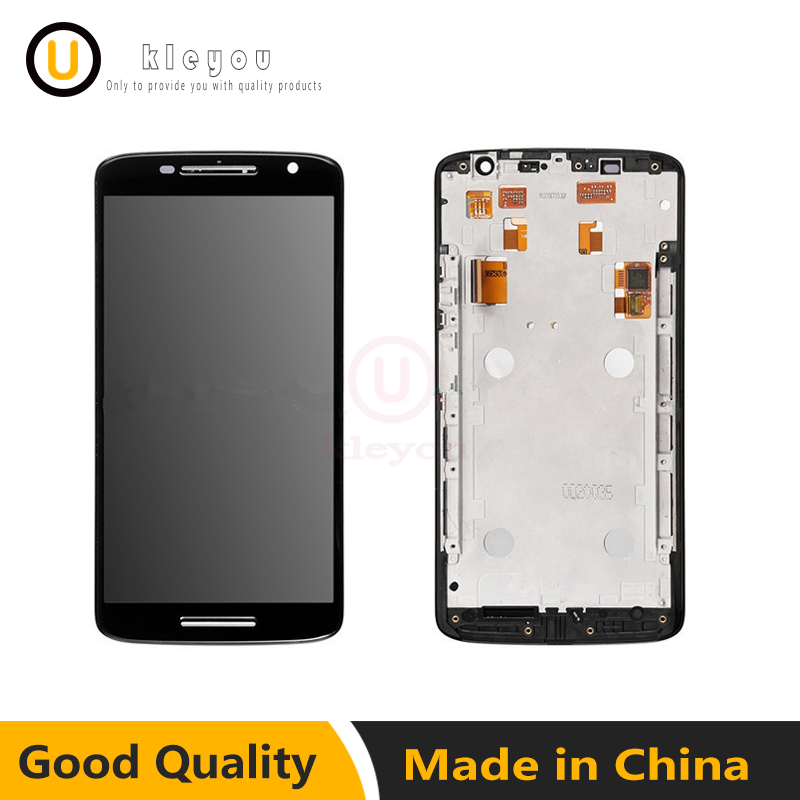 For Motorola Moto X X3 Play xt1561 XT1562 XT1563 LCD Display With Touch Screen Digitizer Assembly With Frame Free Shipping