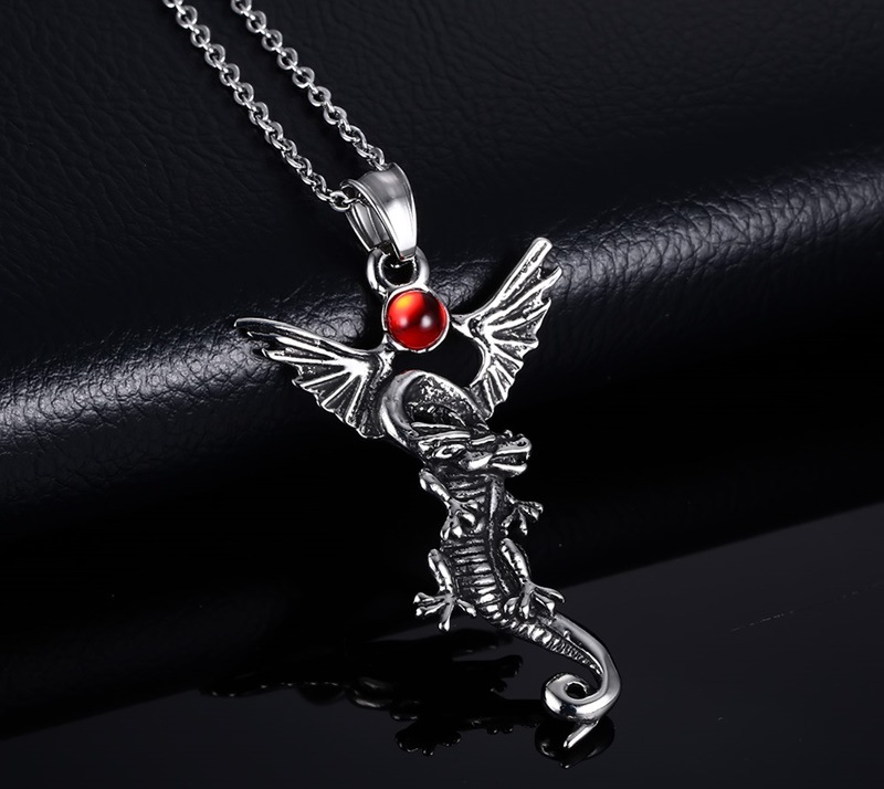 yin friend set bff ip ying pendants friendship dragon necklace best red new yang