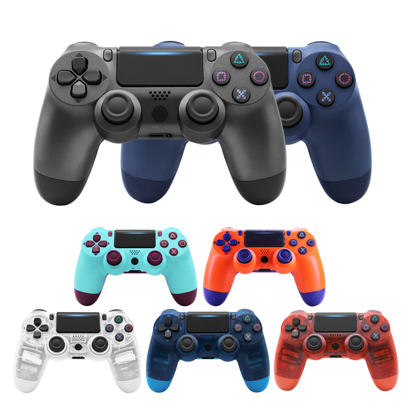 Wireless Bluetooth Controller Gamedpad For Sony DualShock4 Game Controller Joystick Joypad For PS3/PS4 console