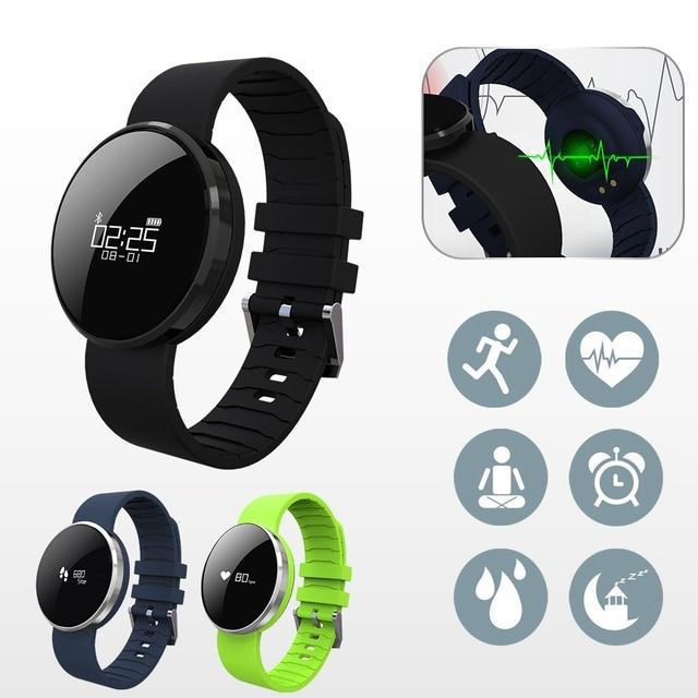 FLOVEME A24 Bluetooth Smart Watch NRF51822 SRAM NOR Flash Waterproof Men Watches Sedentary Remind Heart Rate Monitor Wristband